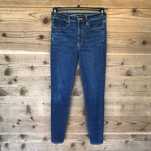 American Eagle Super Hi-Rise Jegging Jeans Sz6